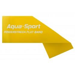 AQUA-SPORT TAŚMA FLAT BAND YELLOW 1,5Mx15CMx015mm 1-2kg