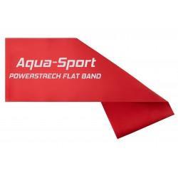 AQUA-SPORT TAŚMA FLAT BAND RED 1,5Mx15CMx0,20mm 2-4kg