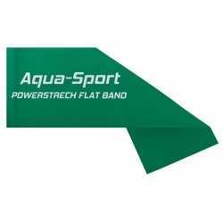AQUA-SPORT TAŚMA FLAT BAND GREEN 1,5Mx15CMx0,25mm 5-8kg