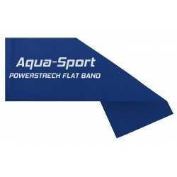 AQUA-SPORT TAŚMA FLAT BAND BLUE 1,5Mx15CMx0,30mm 9-11kg