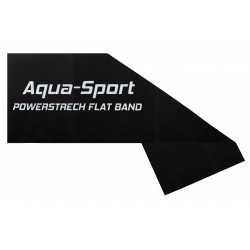 AQUA-SPORT TAŚMA FLAT BAND BLACK 1,5Mx15CMx0,40mm 12-15kg