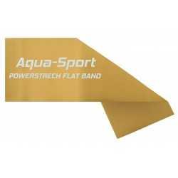 AQUA-SPORT TAŚMA FLAT BAND GOLD 1,5Mx15CMx0,75mm 25-35kg