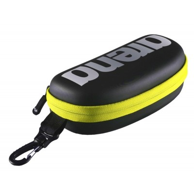ARENA ETUI DO OKULARÓW GOGGLE CASE BLACK SILVER FLUO YELLOW