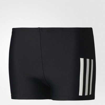 ADIDAS SPODENKI BOKSERKI JUNIOR BACK-TO-SCHOOL 3-STRIPES BOXERS CD0858 BLACK 9-10 ROZMIAR 140