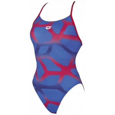 arena-swimsuit-women-spider-booster-back-one-piece-royal-red