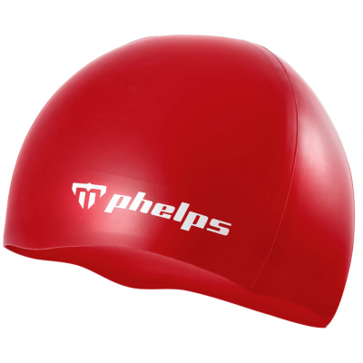 MP MICHAEL PHELPS CZEPEK CLASIC SILICONE RED WHITE