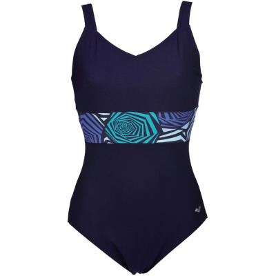 ARENA HELGA WING BACK ONE PIECE NAVY BRIGHT BLUE