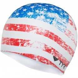 TYR CZEPEK OLD GLORY FLAG CAP WHITE