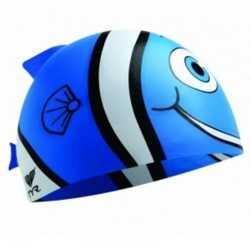 TYR CZEPEK JUNIORSKI CHARACTYR HAPPY FISH BLUE