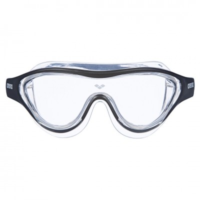 arena-googles-the-one-mask-clear-black-transparent