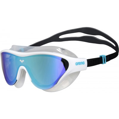 arena-mask-goggles-the-one-mask-mirror-blue-white-black