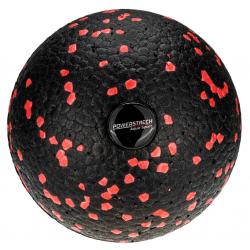 AQUA-SPORT EPP BALL 8CM ROLLER PIŁKA POWERSTRECH BLACK-RED