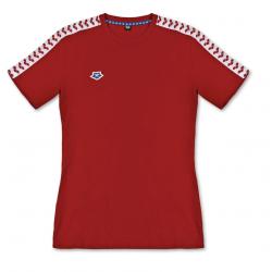 ARENA KOSZULKA MAN T-SHIRT TEAM ICONS RED-WHITE-RED ROZMIAR L