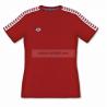 ARENA KOSZULKA WOMEN T-SHIRT TEAM ICONS RED-WHITE-RED ROZMIAR L