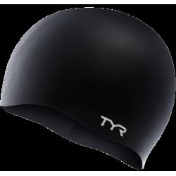 TYR CZEPEK WRINKLE-FREE SILICONE CAP 001 BLACK