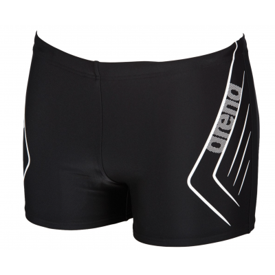 ARENA SPODENKI BOKSERKI MEN REFLECTED SHORT BLACK-WHITE ROZMIAR D5