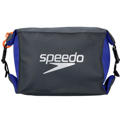 SPEEDO KOSMETYCZKA POOL SIDE BAG AU GREY-BLUE 5 LITRE