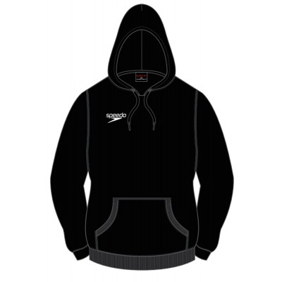 SPEEDO BLUZA CORE TEAM KIT HOODY BLACK PULLOVER HOODY ROZMIAR L