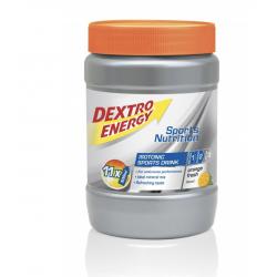 DEXTRO ENERGY ISOTONIC SPORTS DRINK KONCENTRAT NAPOJU IZOTONICZNEGO O SMAKU POMARAŃCZOWYM PUSZKA 440 G