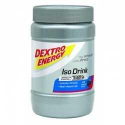 DEXTRO ENERGY ISOTONIC SPORTS DRINK KONCENTRAT NAPOJU IZOTONICZNEGO O SMAKU CZERWONYCH JAGÓD PUSZKA 440 G