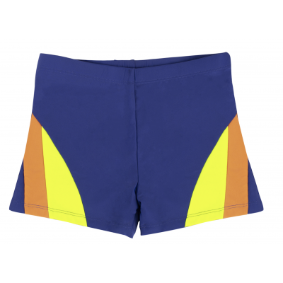 AQUA-SPORT BOY JUNIOR JAMMER COSMO NAVY-ORANGE-FLUO YELLOW WZROST 128/134