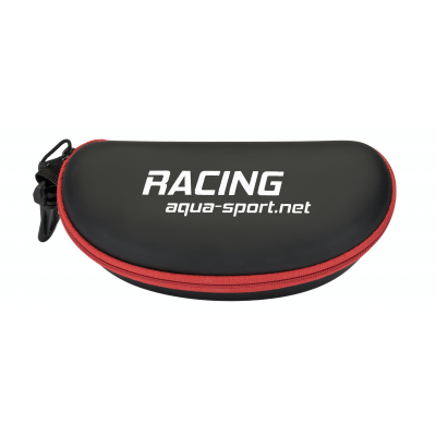 AQUA-SPORT ETUI DO OKULARÓW RACING BLACK-RED