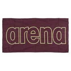 ARENA RĘCZNIK MIKROFIBRA GYM SMART TOWEL RED WINE-SHINY GREEN 100x50 CM