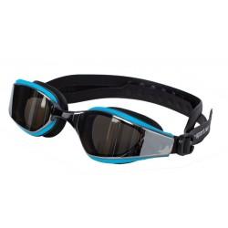 AQUA-SPORT OKULARY STARTOWE TRENINGOWE FLEX-Y MIRROR SILVER-BLUE-BLACK