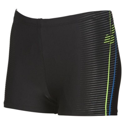 ARENA BOKSERKI JUNIOR SHORT BLACK-SHINY-GREEN ROZMIAR 128 CM