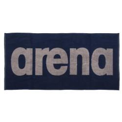 ARENA RĘCZNIK GYM SOFT TOWEL NAVY-GREY 100x50 CM