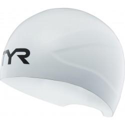 TYR CZEPEK STARTOWY RACING CAP WALL BREAKER 2.1 RACING CAP WHITE ROZMIAR L