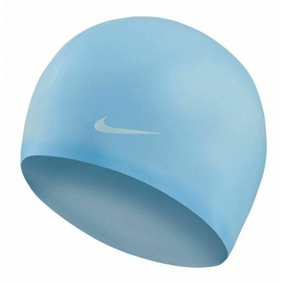 NIKE CZEPEK OS SOLID SILICONE CAP COURT PSYCHIC BLUE