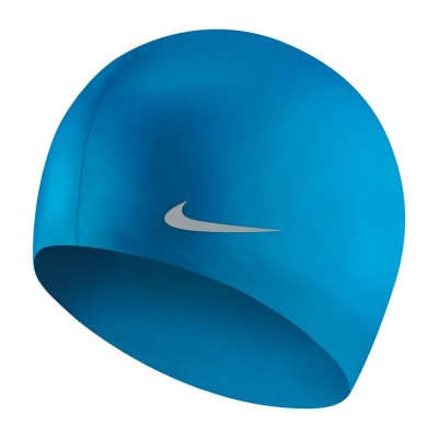 NIKE CZEPEK OS SOLID SILICONE YOUTH CAP PIX BLUE