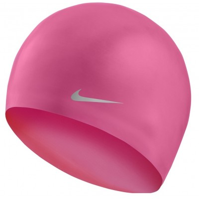NIKE CZEPEK OS SOLID SILICONE YOUTH CAP FLUO PINK