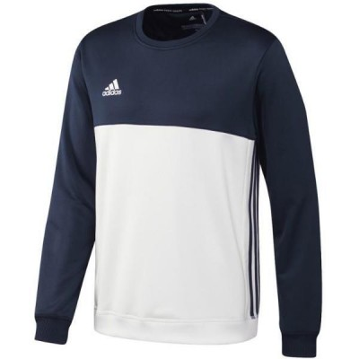 ADIDAS BLUZA JUNIOR T16 NAVY-WHITE WZROST 152CM