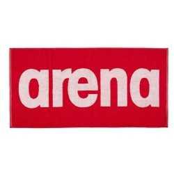 ARENA RĘCZNIK GYM SOFT TOWEL RED-WHITE 100x50 CM